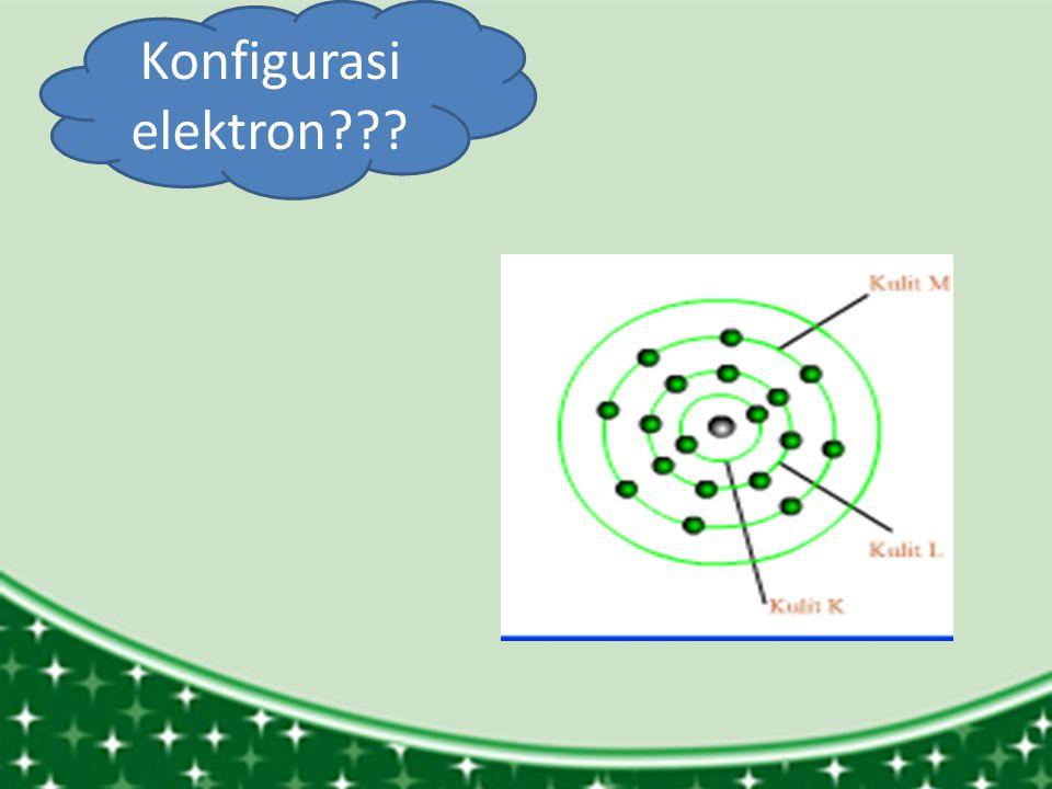 Konfigurasi elektron???