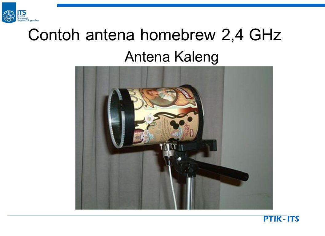 PTIK - ITS Antena Kaleng Contoh antena homebrew 2,4 GHz