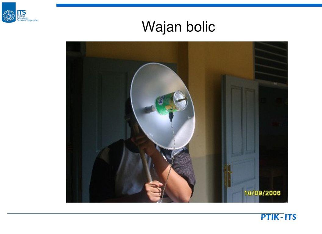 PTIK - ITS Wajan bolic