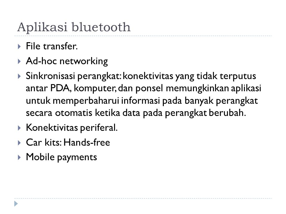 Aplikasi bluetooth  File transfer.