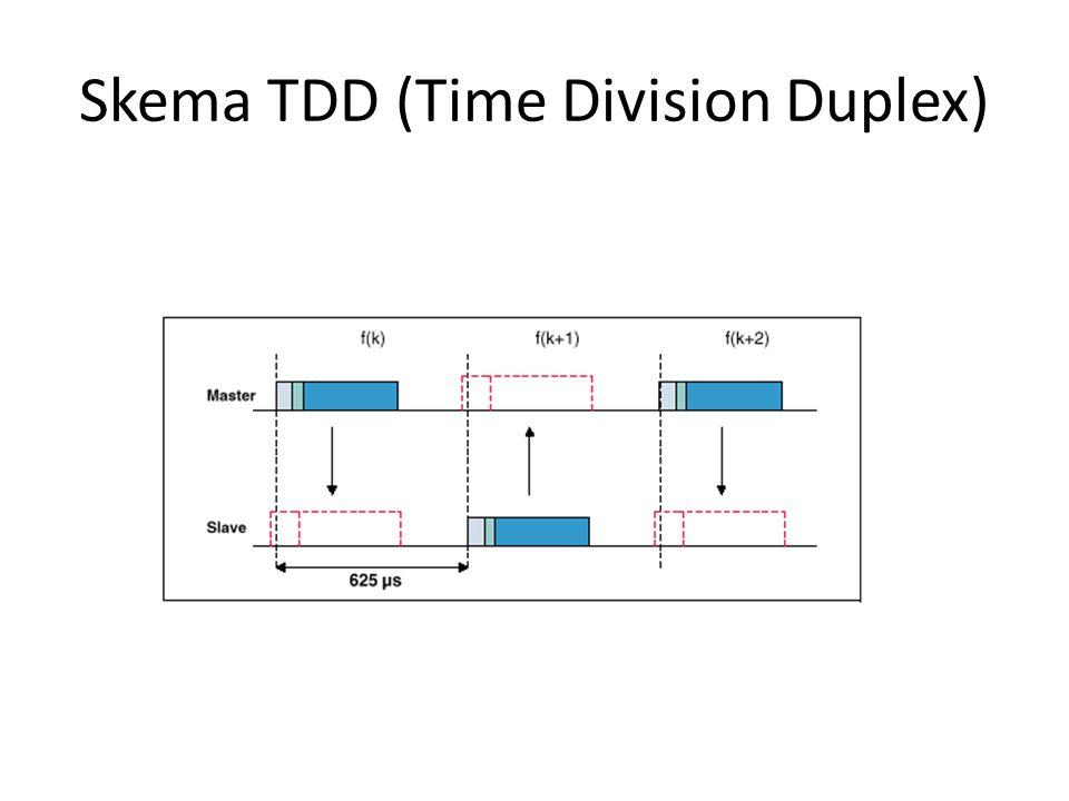 Skema TDD (Time Division Duplex)