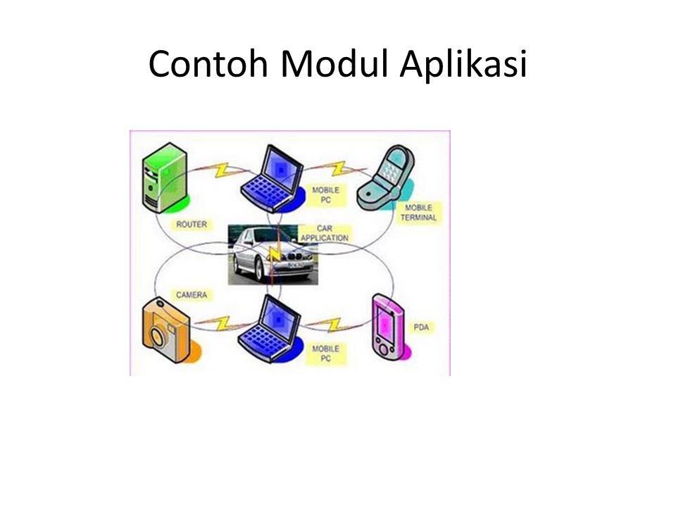 Contoh Modul Aplikasi