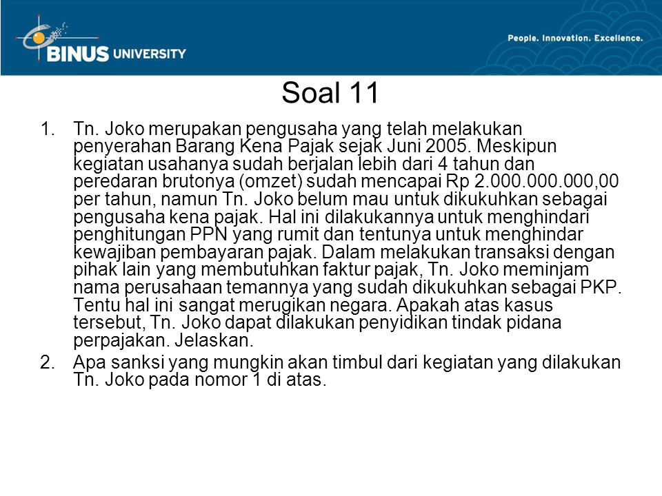 Soal 11 1.Tn.
