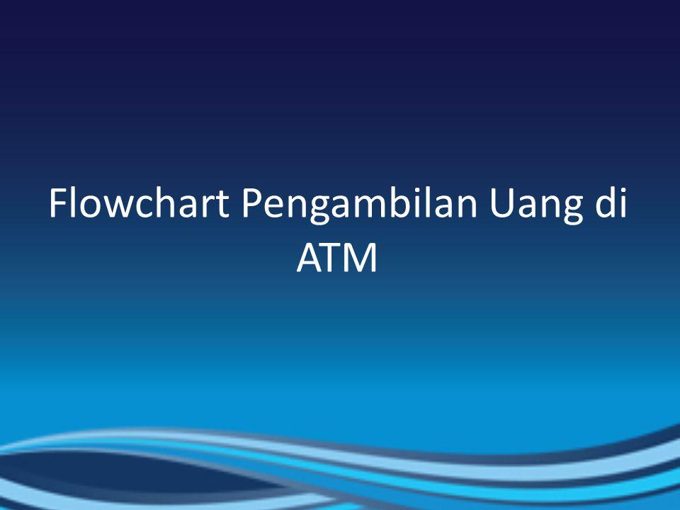 Flowchart Pengambilan Uang di ATM