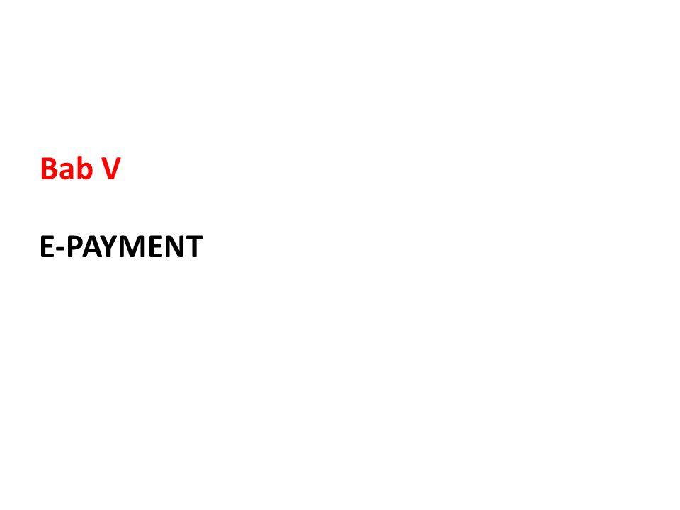 E-PAYMENT Bab V