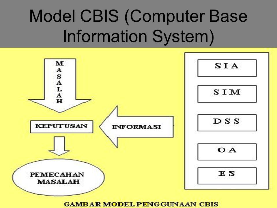 6 Model CBIS (Computer Base Information System)