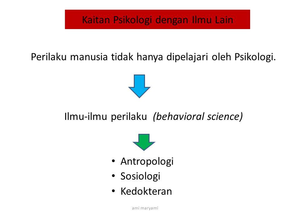 Keterkaitan Psikologi dan Pekerjaan Sosial Pekerjaan Sosial Psikologi umum Psikologi Sosial Psikologi Perkembangan Psikologi Abnormal
