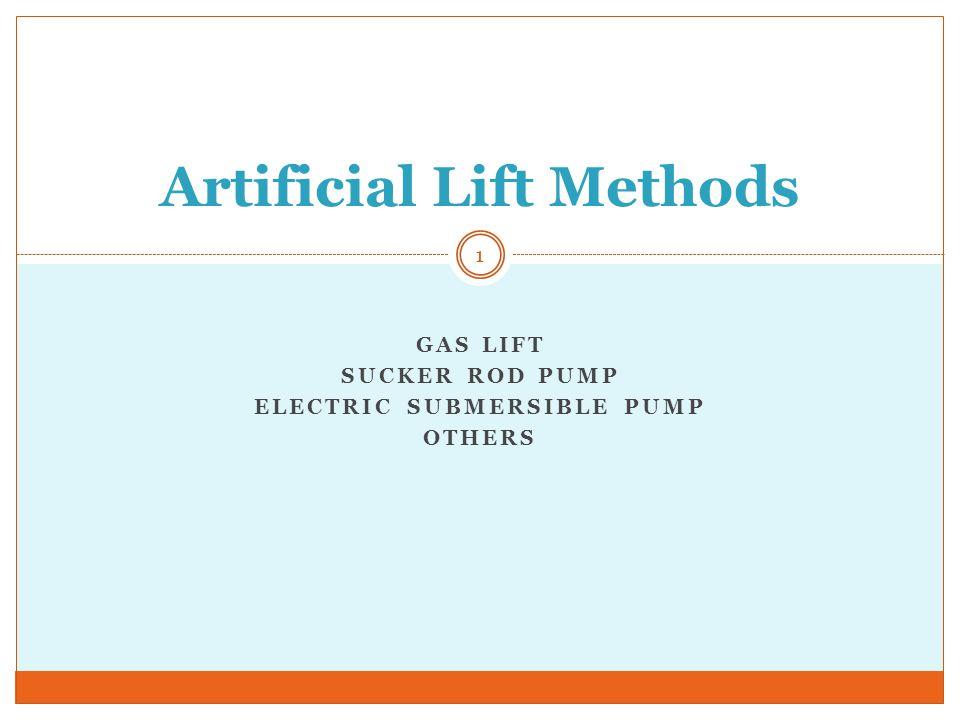 Gas Lift Injection Parameters 42 Compressor Pressure P wf