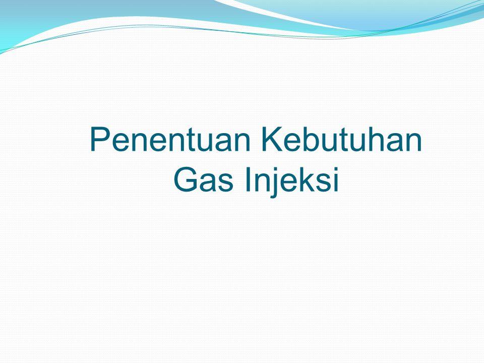 Penentuan Kebutuhan Gas Injeksi