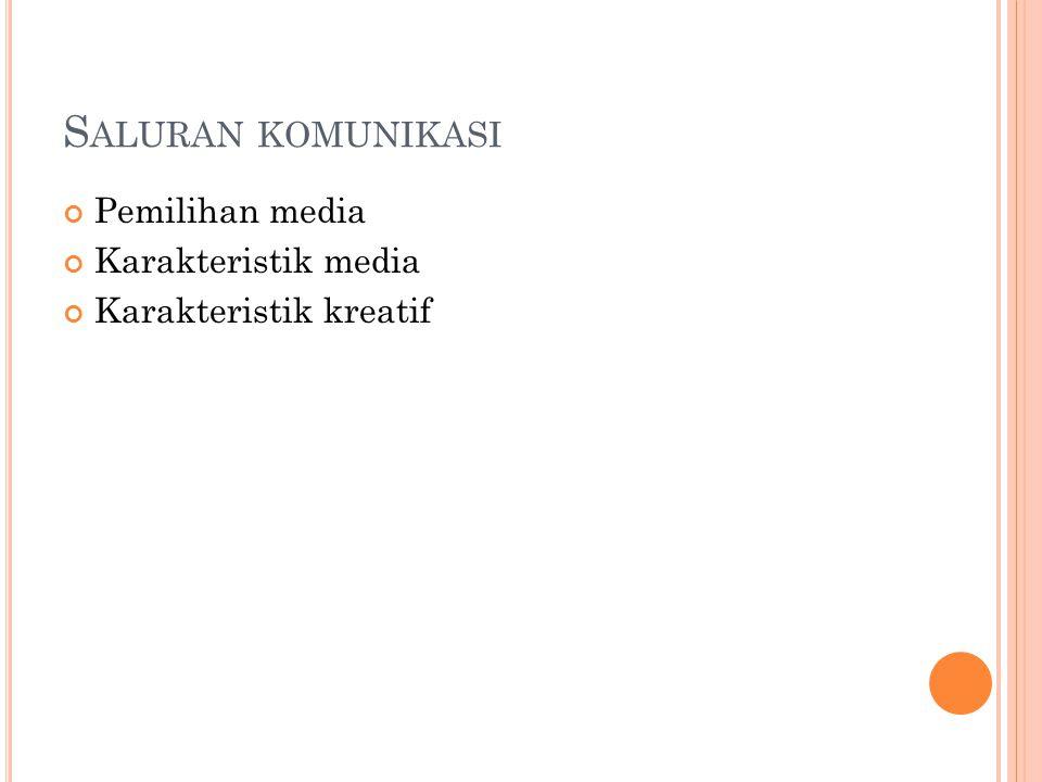K ARAKTERISTIK KHALAYAK A.Pengertian khalayak B. Karakteristik khalayak 1.