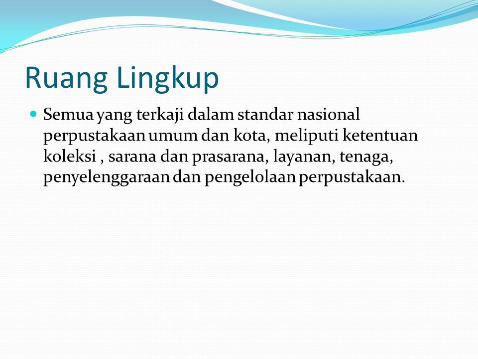 Acuan Normatif Perpustakaan Nasional.Daftar Tajuk sukyek untuk perpustakaan, Jakarta: 2011.