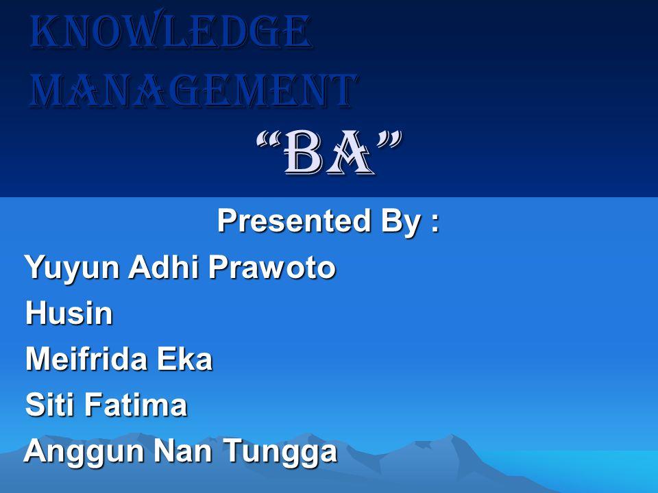 MEMAHAMI KNOWLEDGE SPIRAL ALIAS SECI MEMAHAMI KNOWLEDGE SPIRAL ALIAS SECI Ikujiro Nonaka membuat formulasi yang terkenal dengan sebutan SECI atau Knowledge Spiral.