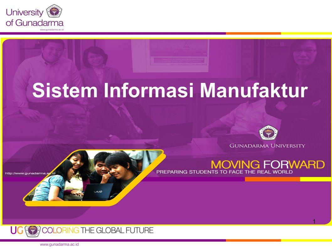 Sistem Informasi Manufaktur 1