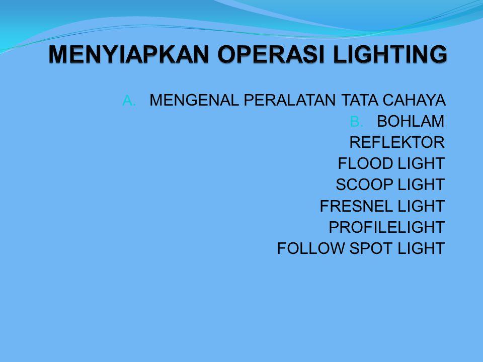 BOHLAM Bohlam adalah sumber cahaya. Bohalm terdiri atas - envelope - filament - base