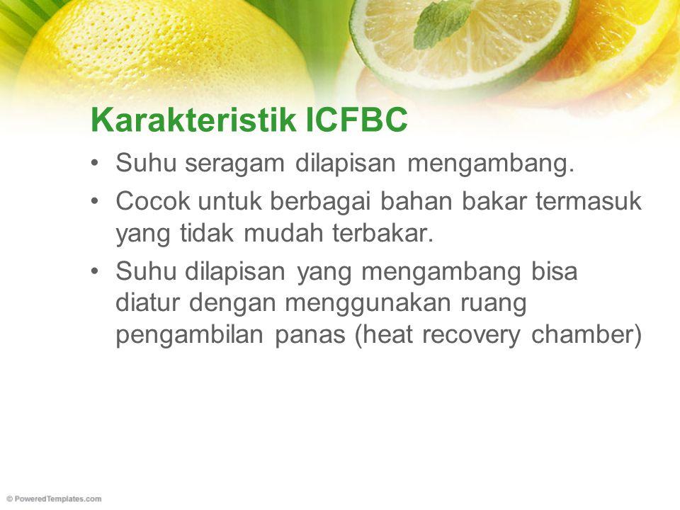 Karakteristik ICFBC Suhu seragam dilapisan mengambang.