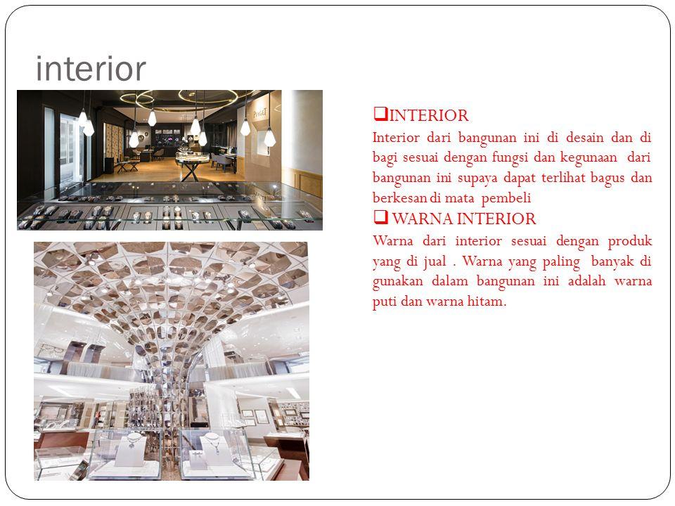 interior  INTERIOR Interior dari bangunan ini di desain dan di bagi sesuai dengan fungsi dan kegunaan dari bangunan ini supaya dapat terlihat bagus d