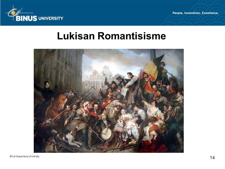 Bina Nusantara University 14 Lukisan Romantisisme