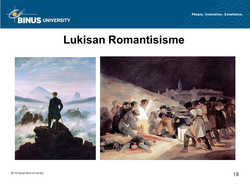 Bina Nusantara University 15 Lukisan Romantisisme