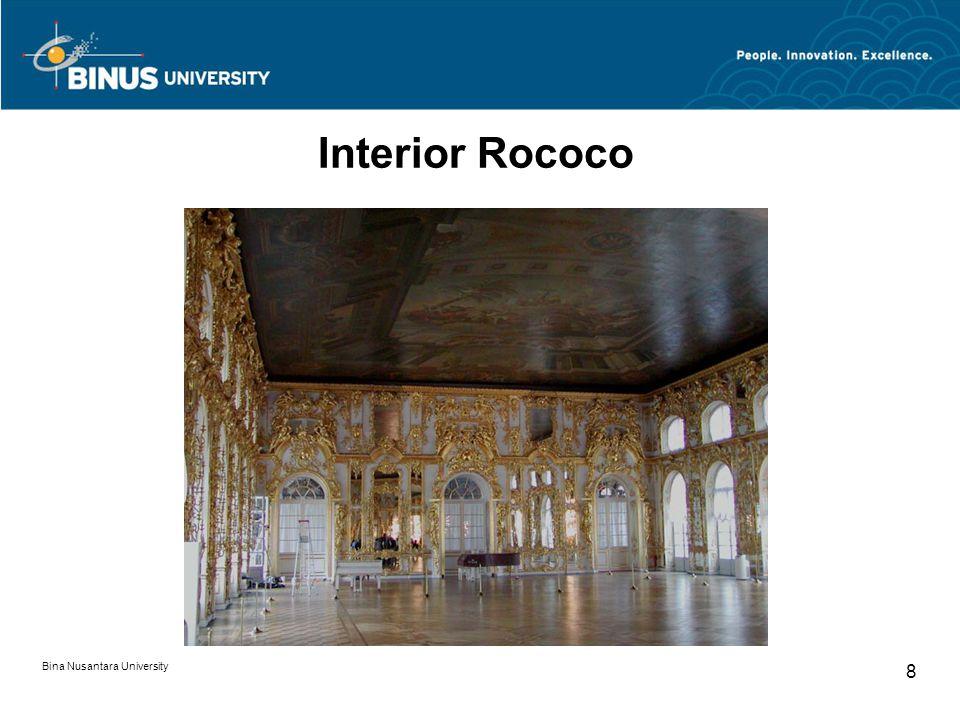 Bina Nusantara University 8 Interior Rococo