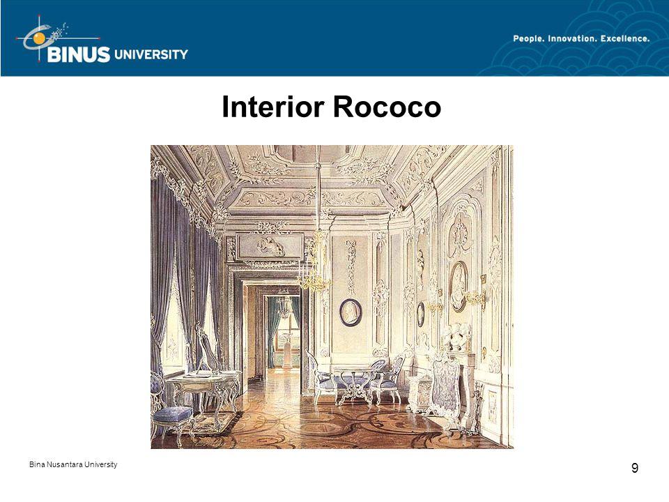 Bina Nusantara University 9 Interior Rococo