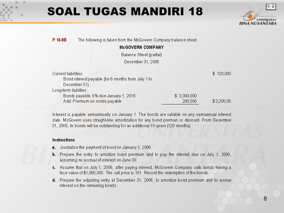 6 SOAL TUGAS MANDIRI 18