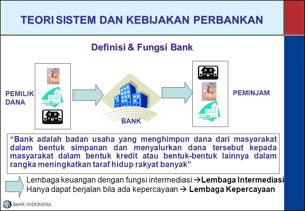 II. TUGAS-TUGAS BANK INDONESIA