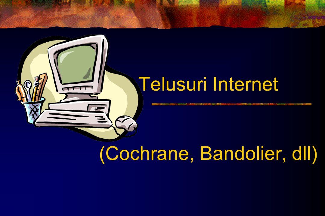 Telusuri Internet (Cochrane, Bandolier, dll)