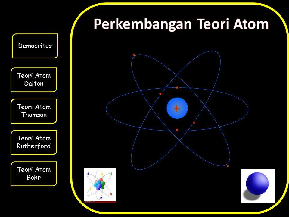 Teori Atom Dalton Teori Atom Thomson Teori Atom Rutherford Teori Atom Bohr Democritus +