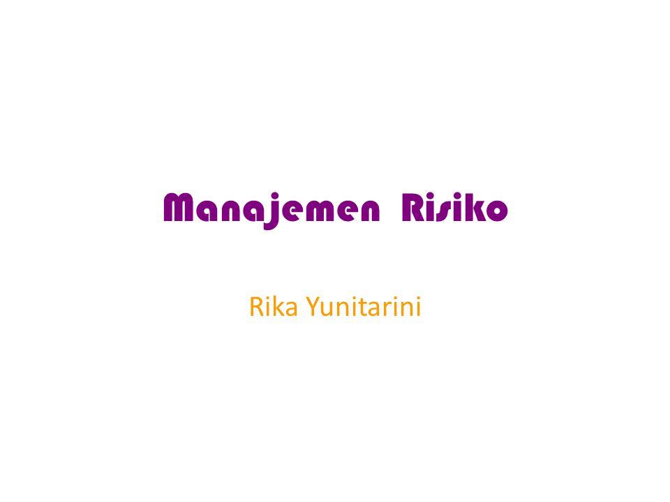 Manajemen Risiko Rika Yunitarini
