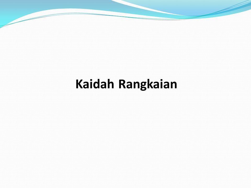 Kaidah Rangkaian