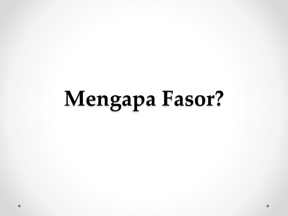 Mengapa Fasor?