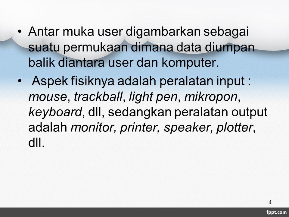 Hypermedia mengandung pelbagai layer informasi, seperti contoh berikut ini : Natural language berbasis menu : Menyediakan cara sederhana dan trans- paran untuk menjalankan dan meng-query sistem.