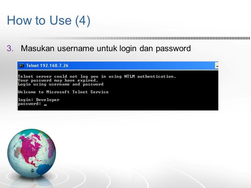 RDC  Untuk lebih amannya, kita bisa buat account khusus [User Account] untuk membatasi login yang dapat mengakses komputer tersebut  Karena itu biasanya setelah kita klik connect, RDC meminta ID dan Password  RDC memang prosedurnya harus diaktifkan terlebih dahulu, untuk menghindari akses dari luar secara bebas  Bukan dibuat untuk tindakan spy, tapi mempermudah pekerjaan yang membutuhkan lebih dari 1 komputer