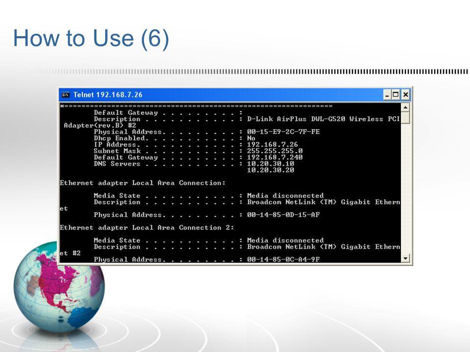 SSH (Secure Shell)  SSH seperti Telnet untuk meremote komputer tujuan.