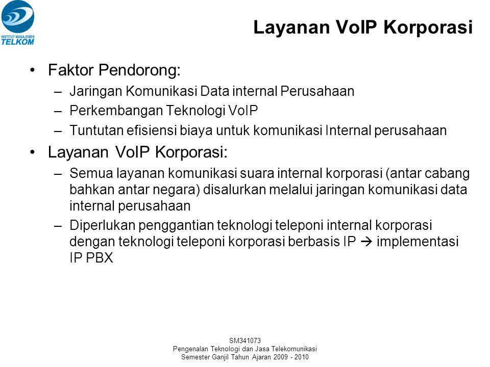 SM341073 Pengenalan Teknologi dan Jasa Telekomunikasi Semester Ganjil Tahun Ajaran 2009 - 2010 Layanan VoIP Retail PC to PC Layanan ini merupakan laya