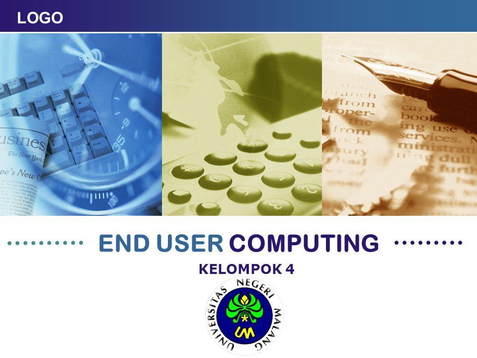 PENGERTIAN END USER COMPUTING End User Computing (EUC) adalah sebuah konsep dalam rekayasa perangkat lunak yang mengacu kepada abtraksi dari kelompok orang-orang yang pada akhirnya akan mengoperasikan software (pengguna yang diharapkan atau target-user).