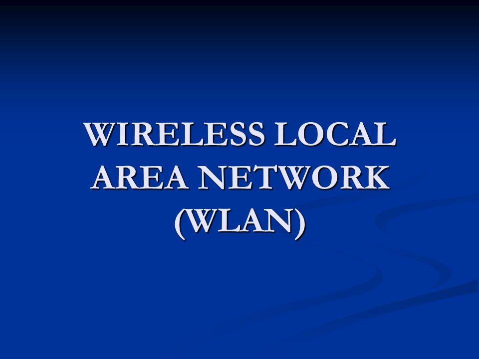 TOPOLOGI WLAN AD HOC AD HOC Jaringan WLAN yang hubungan antar komputer tidak membutuhkan Access Point, tetapi langsung melalui Wireless LAN Card pada masing2 komputer.