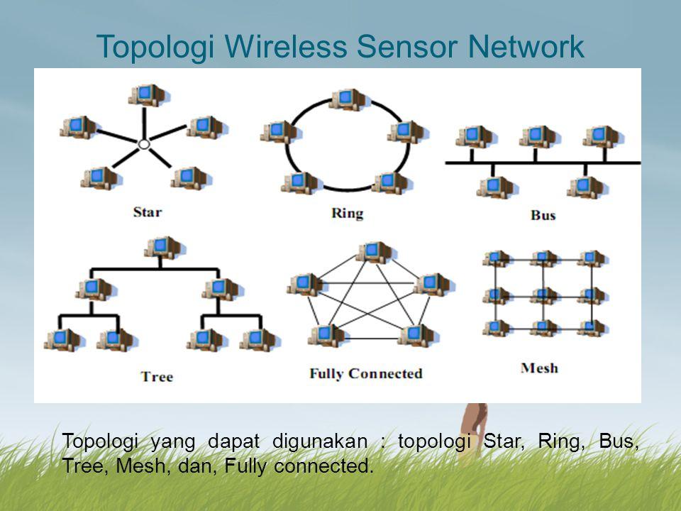 Model Protocol pada Wireless Sensor Network Model protokol generik yang dapat digunakan : untuk mendeskripsikan jalur komunikasi (routing) di dalam jaringan sensor nirkabel.
