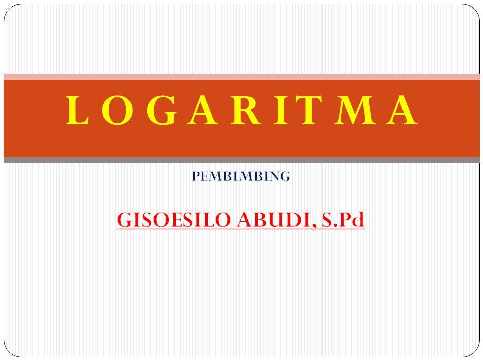 Penyelesaian a log 12 = log (2.2.
