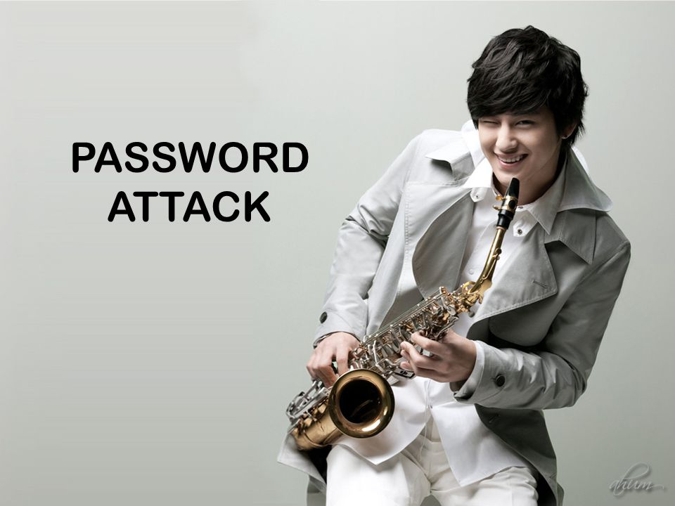 PASSWORD ATTACK