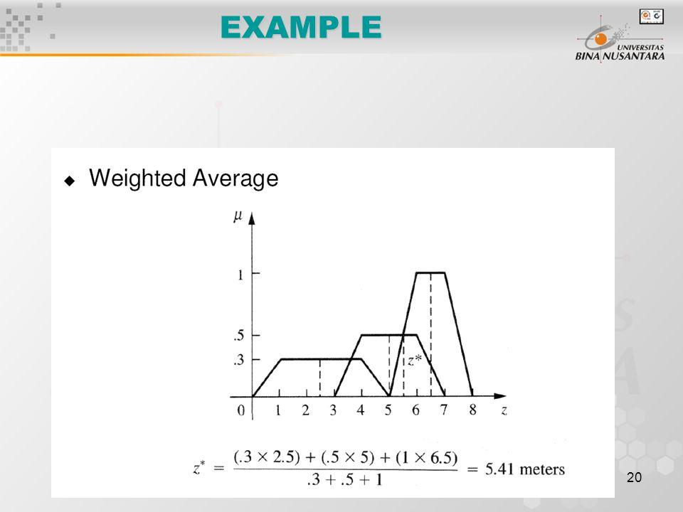 20 EXAMPLE