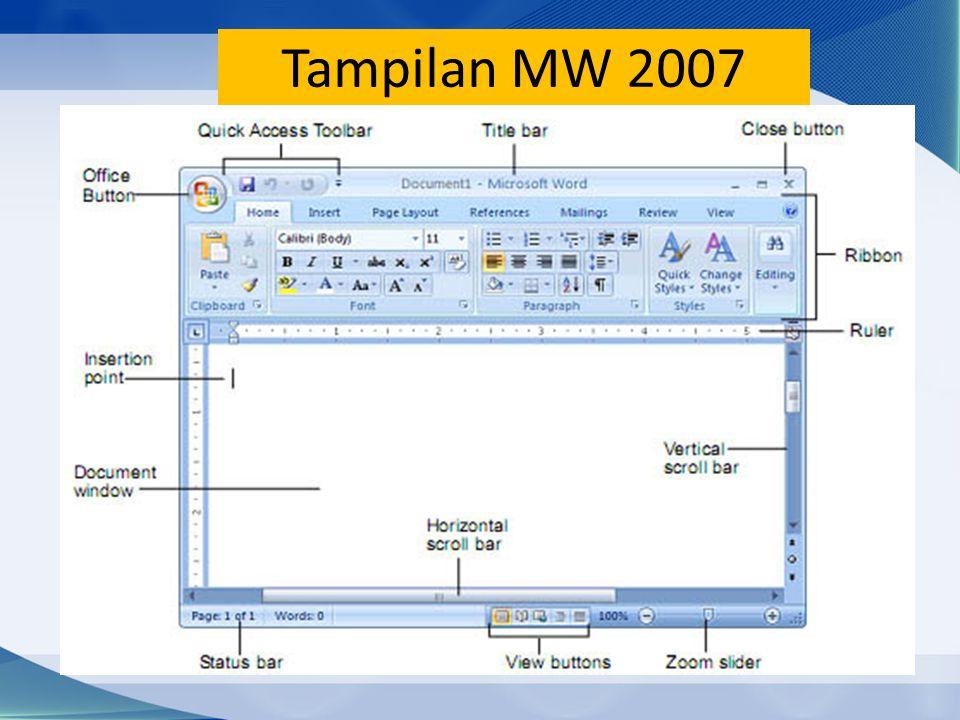 Tampilan MW 2007