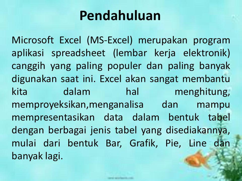 MS. EXCEL OLEH : HENI ASTUTI 0901125083 PEND. MATEMATIKA 3G MS. EXCEL OLEH : HENI ASTUTI 0901125083 PEND. MATEMATIKA 3G