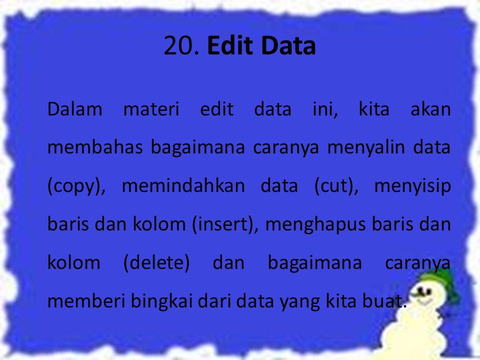 Kotak Orientasi, digunakan untuk mengatur orientasi/arah perataan data dengan derajat posisi kemiringanya. Gambar 3.28. Pengaturan Orientasi Perataan