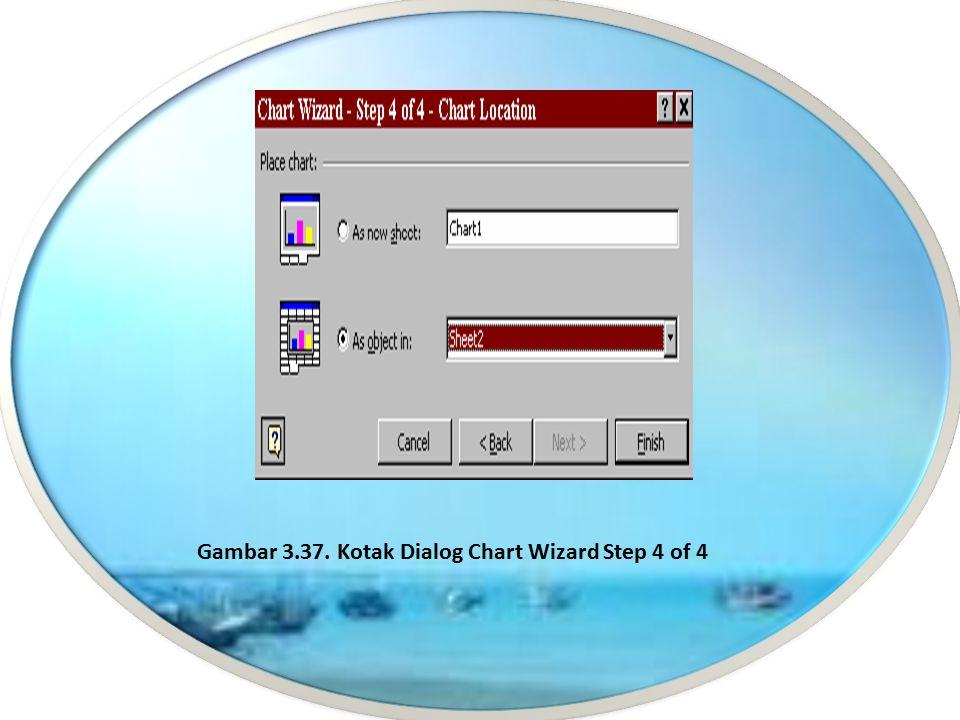 10. Tab Data Labels digunakan untuk mengatur penempatan label data pada grafik. Label data ini berupa teks, nilai data, atau tidak ada sama sekali, te