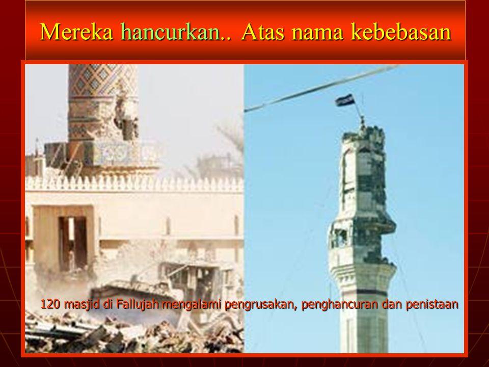 Lalu, dimana Bangsa Arab dan Umat Islam!!??