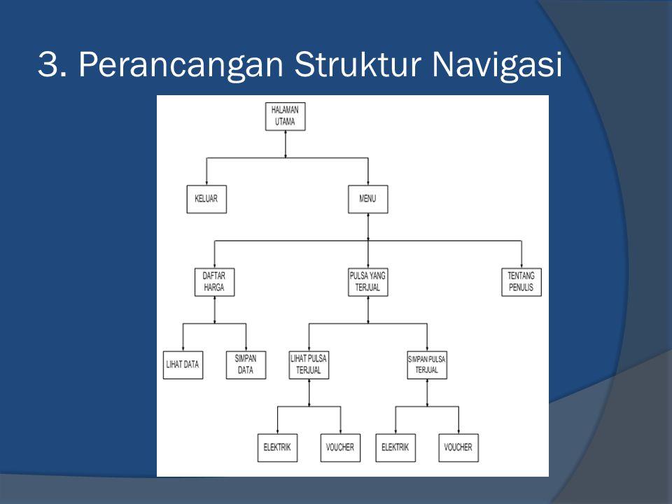 3. Perancangan Struktur Navigasi