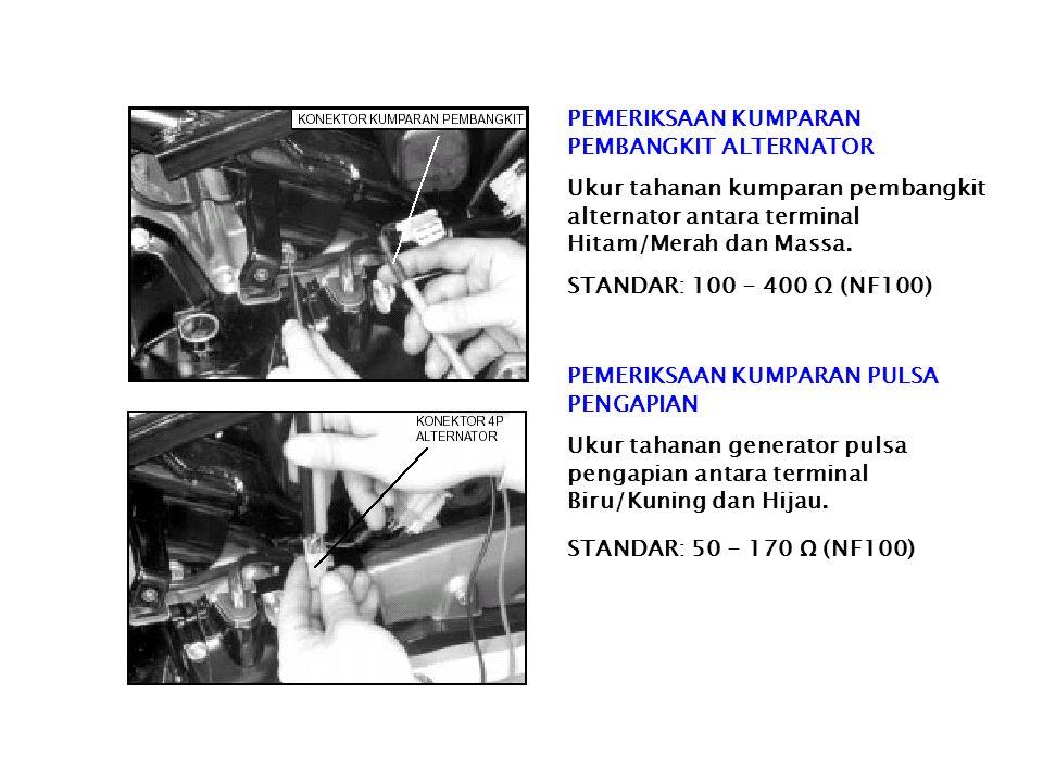 GENERATOR PEMBANGKIT PULSA B B Fungsi : Menghasilkan tegangan pulsa untuk mengatur kerja SCR. Konstruksi : Generator Pulsa terdiri dari sebuah magnet
