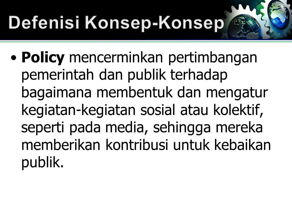 Sejak September 1999, Indonesia telah memiliki Undang-Undang Pokok Pers No.