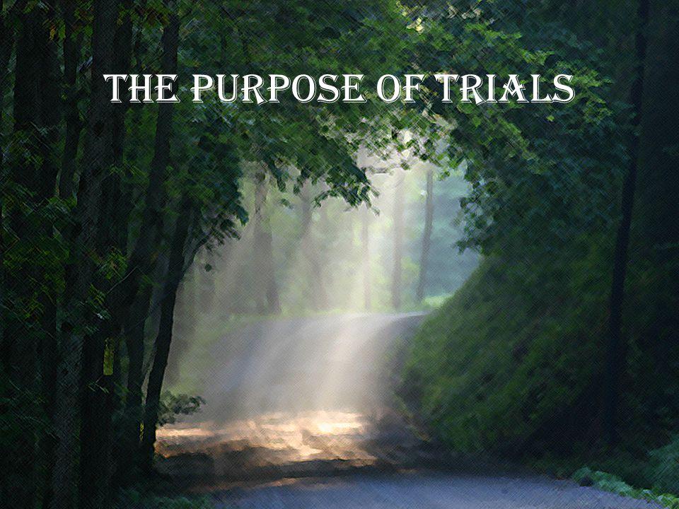 The purpose of trials